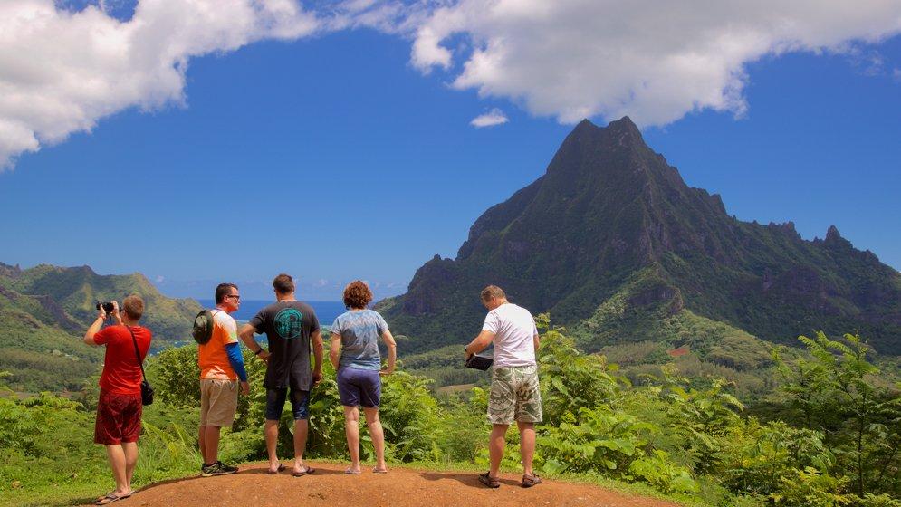 Belvedere Lookout - Tahiti