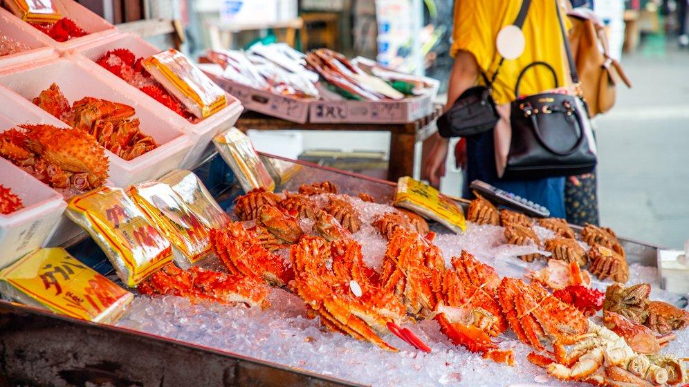 Sapporo Crab Market - Sapporo, Japan